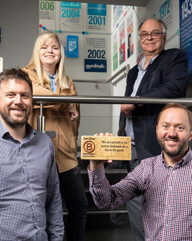 Rowlinson Knitwear certified as B Corporation