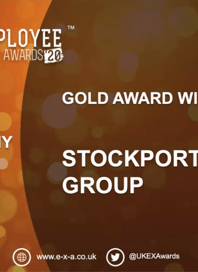 UK Employment Experience Awards name Stockport Homes Group 'Best Company to Work for'