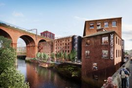 Capital & Centric reveal new images of Weir Mill regeneration