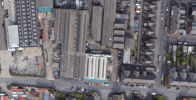 Stockport recycling group submits plans for site expansion. Image: Google Maps