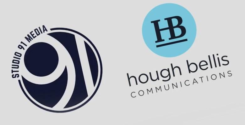 Studio 91 celebrates new PR agency partnership Hough Bellis Communications