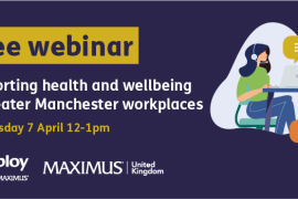 Stockport businesses invited to free health and wellbeing webinar