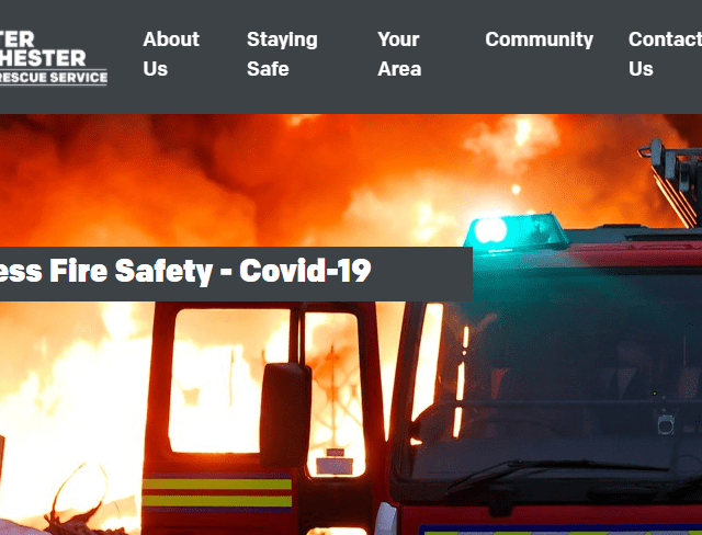Fire safety officers help keep businesses safe from fire as customers welcomed back