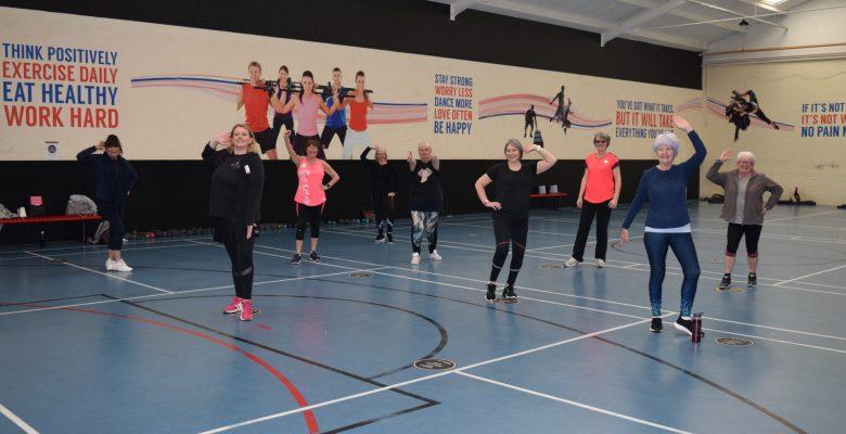 Life Leisure members welcome return of indoor classes