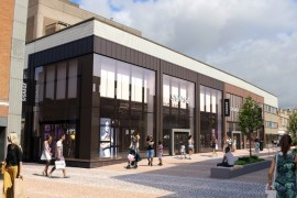 New shopfronts proposed for former BHS store