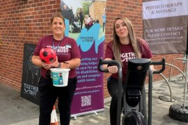 Supermarket team raises over £1000 for Stockport charity Together Trust