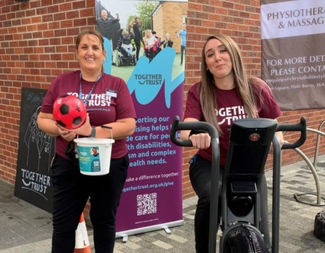 Supermarket team raises over £1000 for Stockport charity