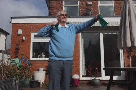Alan Gillatt (Stockport Moving Together) Using Resitance Band from COVID Recovery Pack