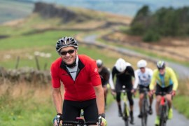Seashell takes off 'chapeau' to intrepid cyclists