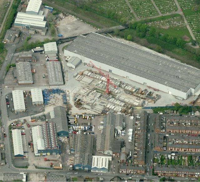 160,000 sq ft Stockport industrial building set for refurbishment
