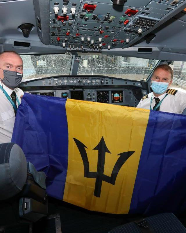 Aer Lingus' first non-stop transatlantic flight from Manchester takes off