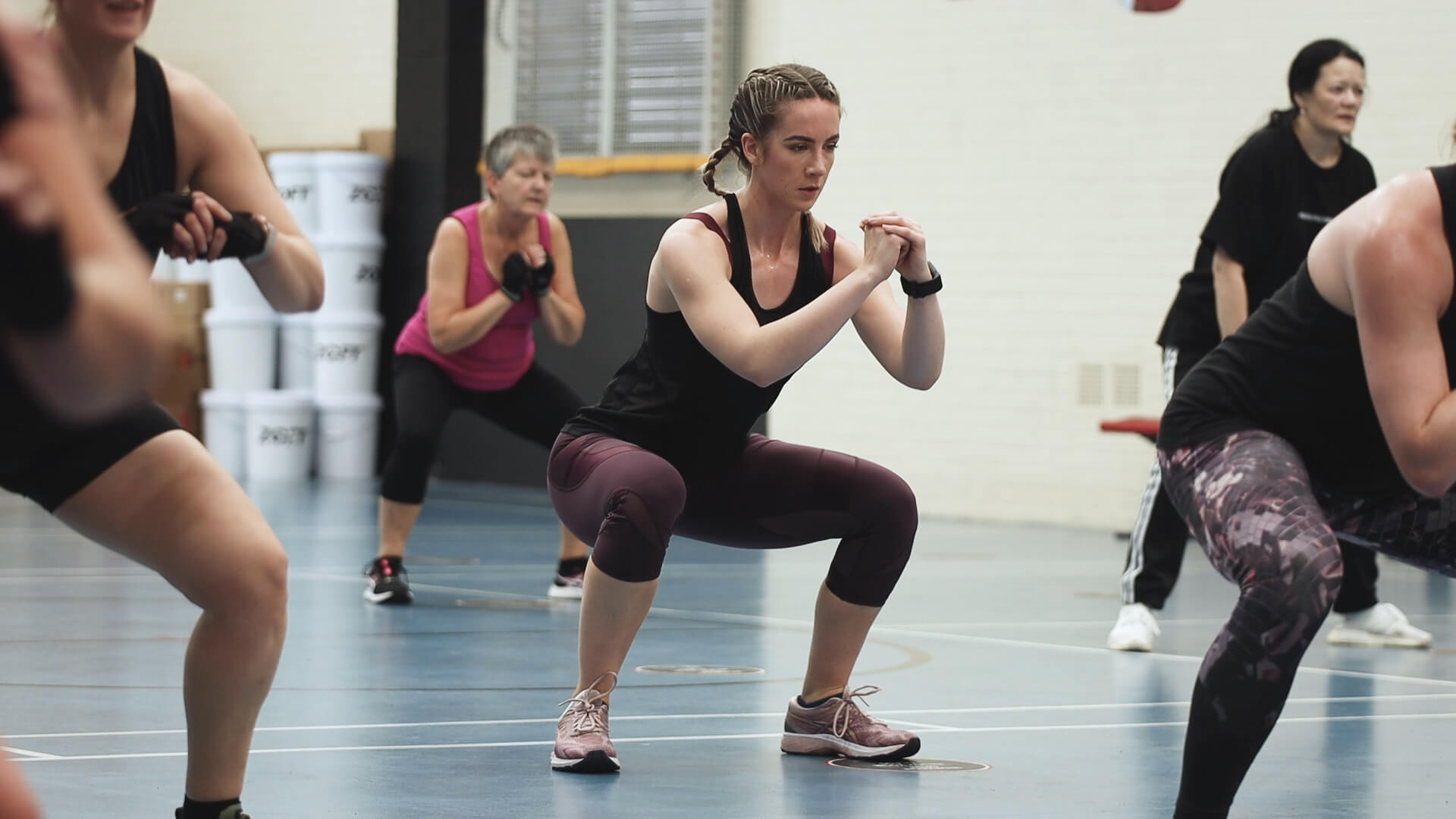 Typical BodyCombat classes last just 45-minutes