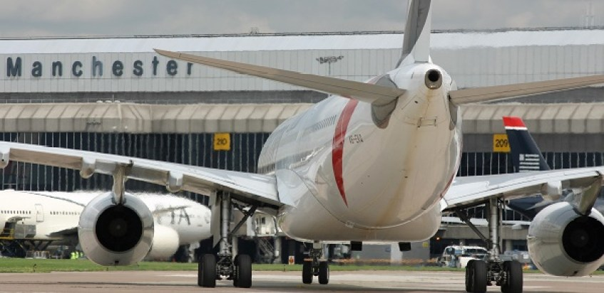 Manchester airport Passenger numbers reach double digit growth