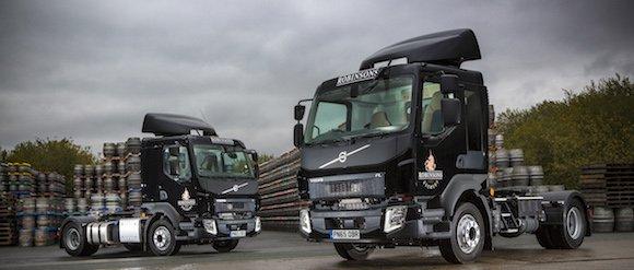 Robinsons new trucks