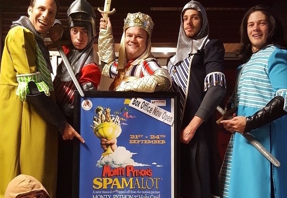 Spamalot preforms at The Forum Theatre, Stockport