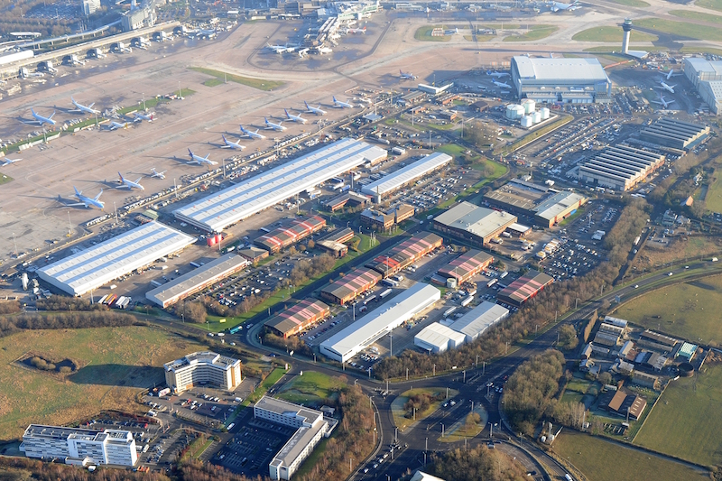 Manchester Airport's World Freight Terminal