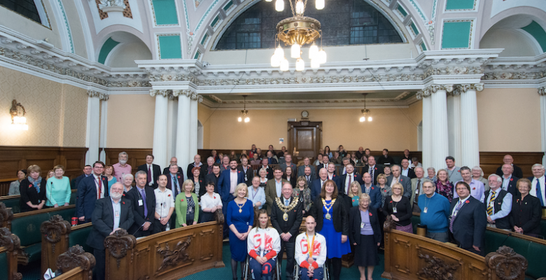 Stockport Councillors celebrate Rio Paralympians success
