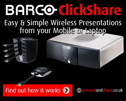 Click Share presentation