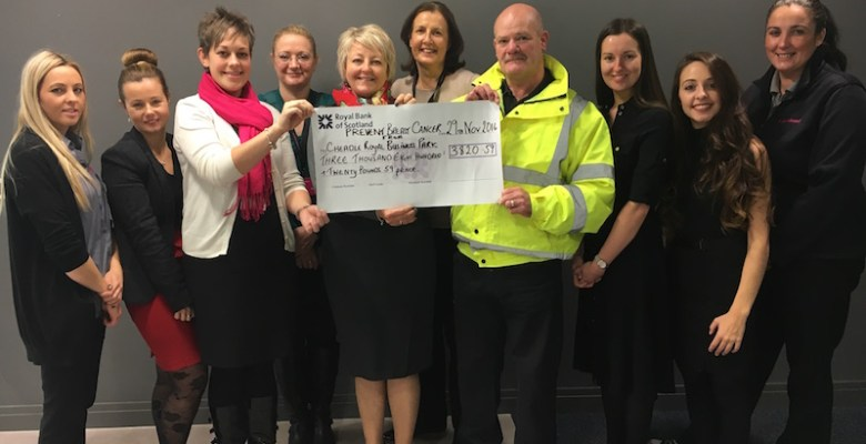 Cheadle Royal Business Park raising money for breast cancer