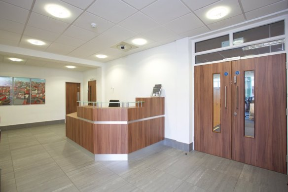 Orbit Developments Grosvenor House reception area