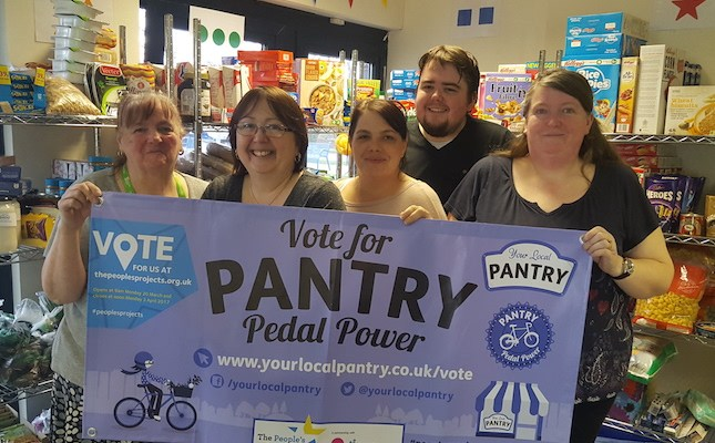 Your Local Pantry campaigning for National Lottery Funding