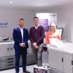 Stewart Bowden and Kate Kirkland from PP Mailing invest in digital print