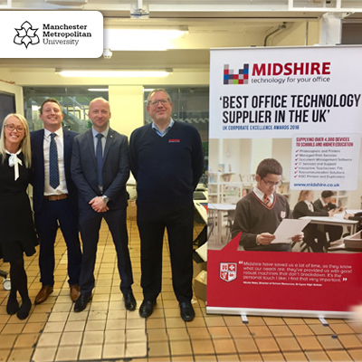 Midshire recently supported MMU Print Tech Day