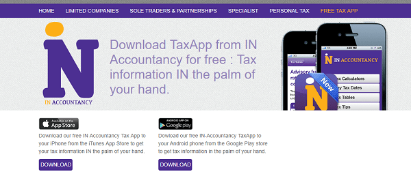 Stockport's IN Accountancy's TaxApp is massive hit