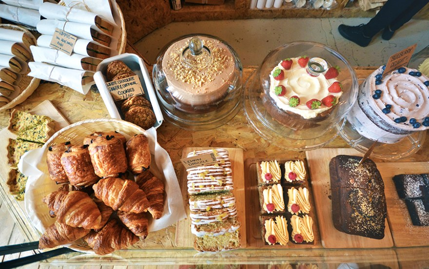 Hatters Coffee Co - a 'continental' treat of cakes, coffee and pastries