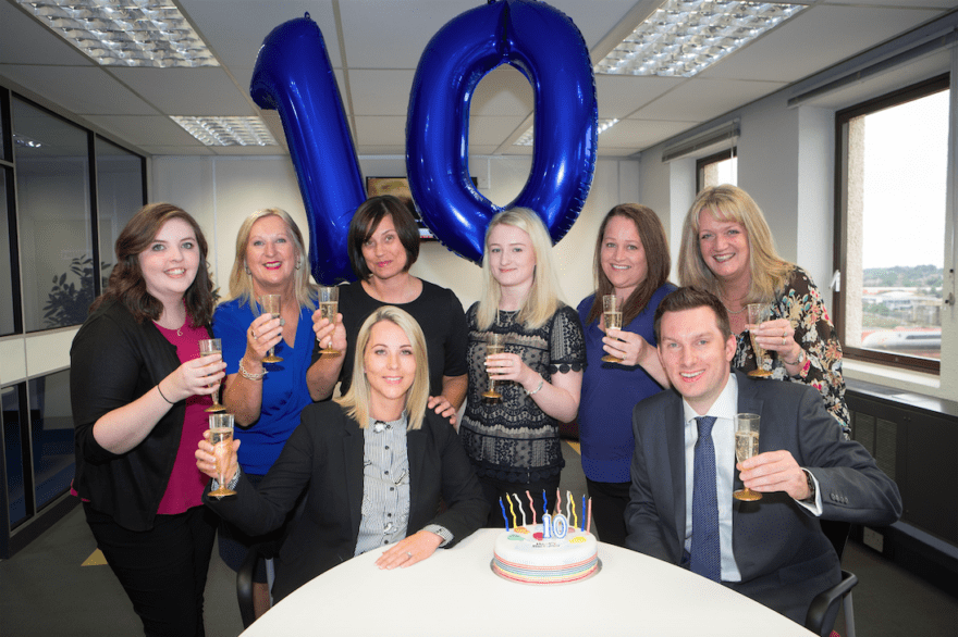 Social Care Recruitment Experts Celebrate 10 years in Stockport
