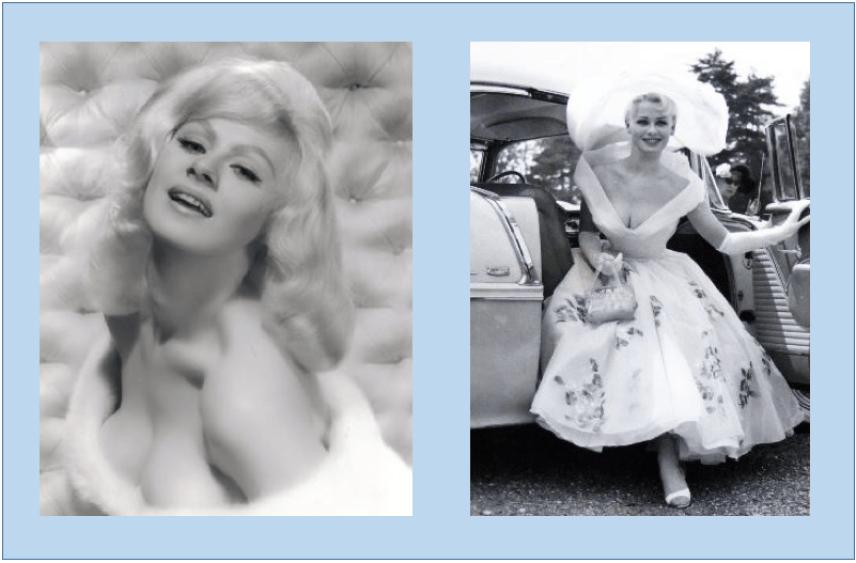 Hollywood and Stockport starlet Sabrina