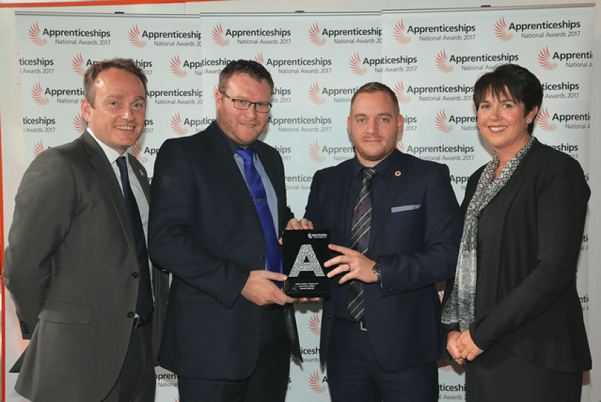 Bennett Verby highly commended at National Apprenticeship Awards