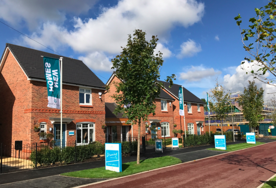 New homes in Brinnington Stockport