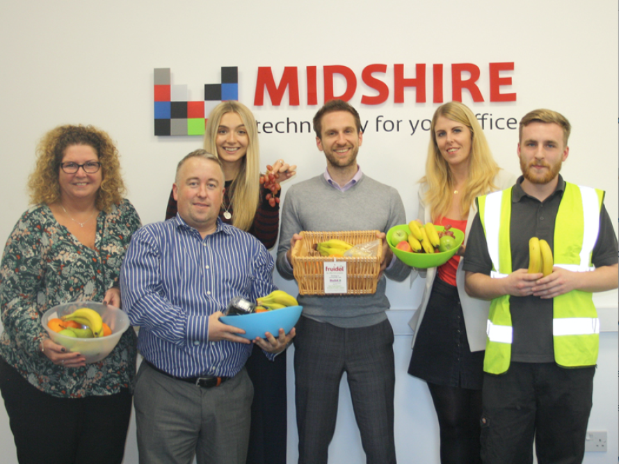 Midshire get fruity for Health and Wellbeing week
