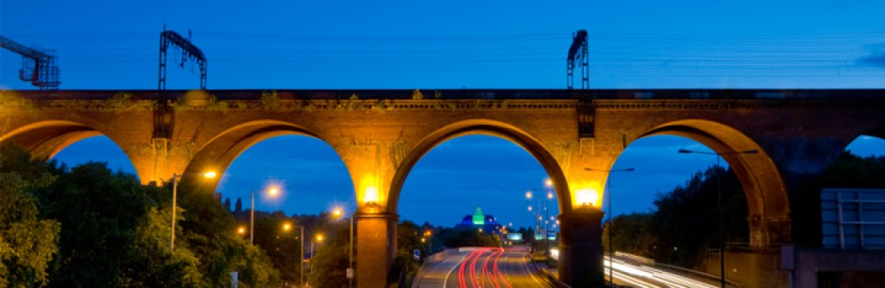The Travis Brow Link Road - Stockport viaduct