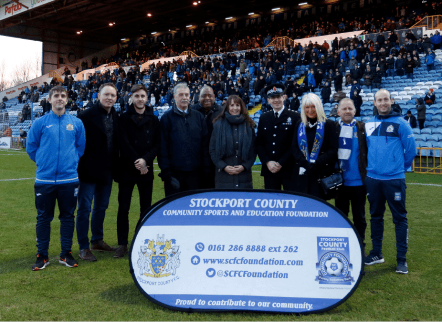 Stockport's Goalz project announced at Stockport County i