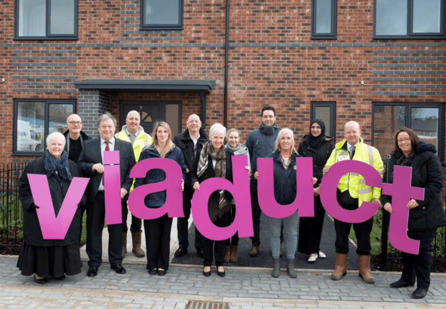 Viaduct Housing official opening of their Little Moor development in Stockport