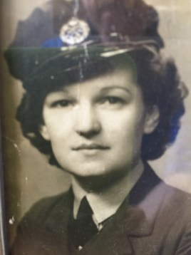 Janet in the WRAF