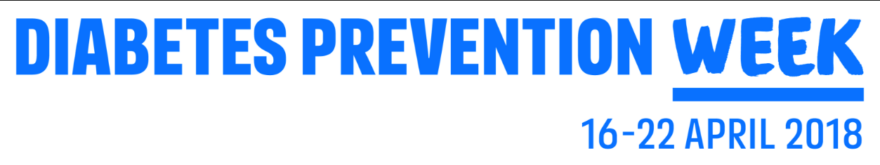 National Diabetes Prevention Week April 16th-22nd Stockport