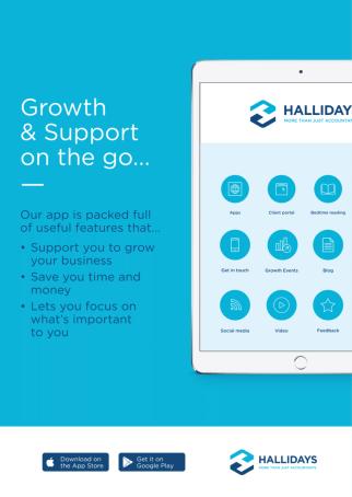Hallidays App