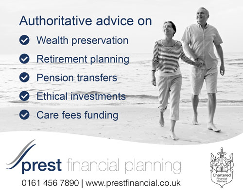 Prest financial Stockport