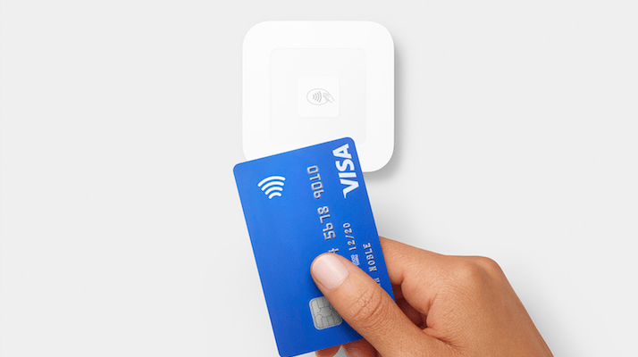 Square Payment system adopted by Aqua Design