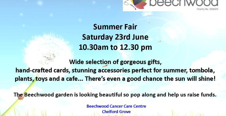 Beechwood summer fair 2018