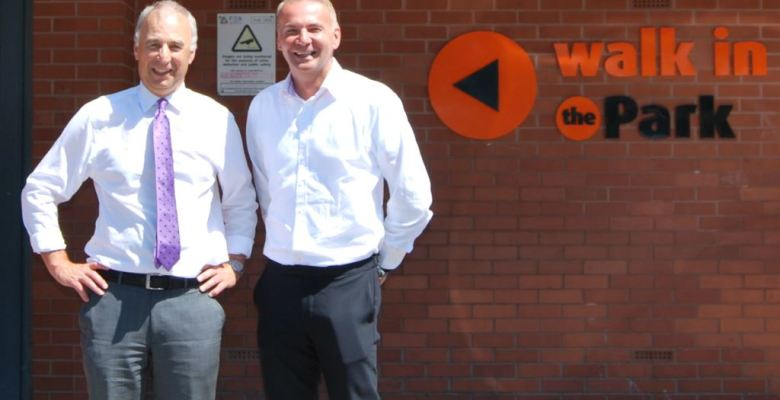 Stockport Life Leisure CEO Malcolm McPhail (right) expands into Cumbria