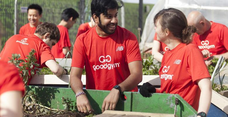 GoodGym volunteers
