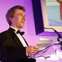 Andrew Baggott of Clarke Nicklin, founders of the Stockport Business Awards