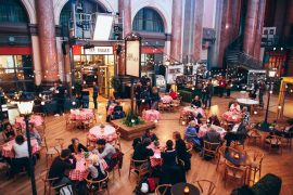 Robinsons arrives at Stockport Exchange Great Hall & Rivals Cafe