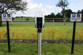 Electronic vehicle charging grants for businesses under the workplace charging scheme