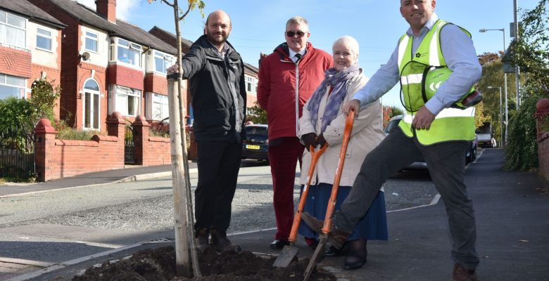 Extra 1300 trees to line Stockport's streets