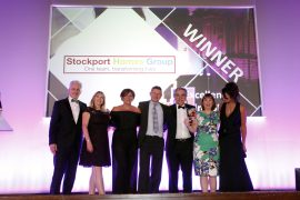 Stockport Homes CSR winners at Stockport Business Awards